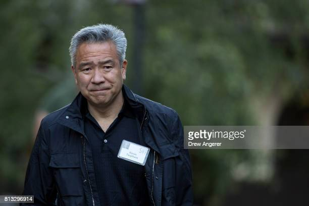 Kevin Tsujihara chief executive officer of Warner Brothers Entertainment attends the second day of the annual Allen Company Sun Valley Conference...