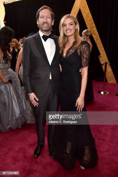 Kevin Ulrich and guest attend the 90th Annual Academy Awards at Hollywood Highland Center on March 4 2018 in Hollywood California