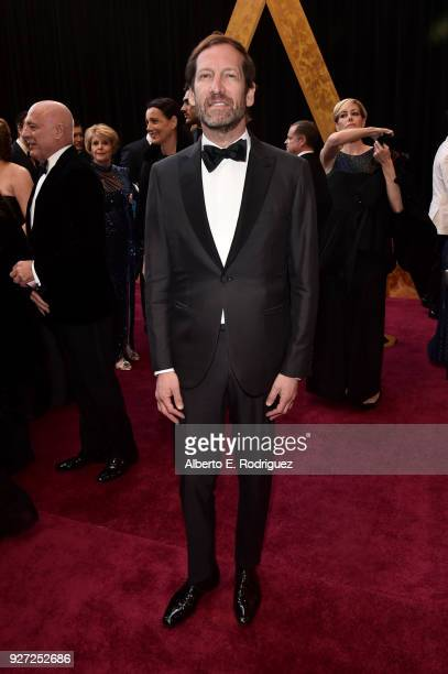 Kevin Ulrich attends the 90th Annual Academy Awards at Hollywood Highland Center on March 4 2018 in Hollywood California