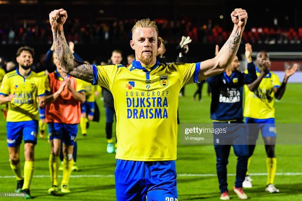 "Dutch Keuken Kampioen Divisie""Almere City v Cambuur Leeuwarden"" : Foto jornalística"