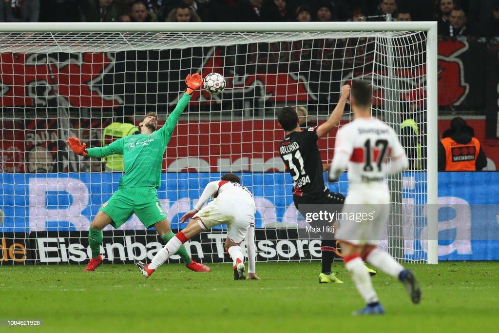 Bayer 04 Leverkusen v VfB Stuttgart - Bundesliga : Foto jornalística