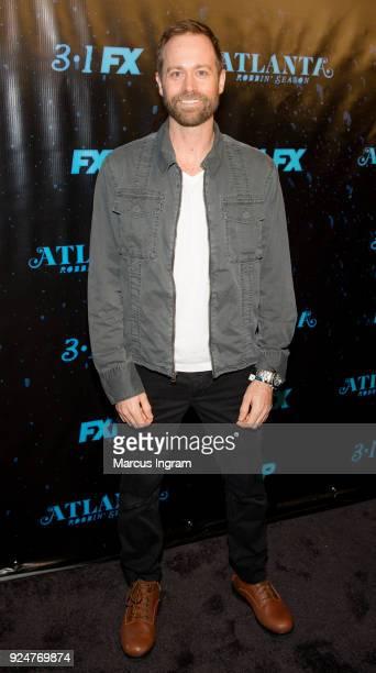 Kevin Waterman attends the 'Atlanta Robbin' Season' Atlanta premiere at Starlight Six Drive on February 26 2018 in Atlanta Georgia