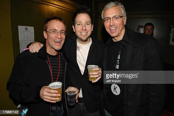 Kevin Weatherly of KROQ DJ Stryker and Dr Drew Pinsky