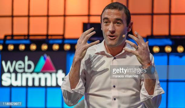 Kevin Weil VP of Product Calibra speaks on Building Calibra and increasing access to the global economy at Center Stage of Web Summit in Altice Arena...