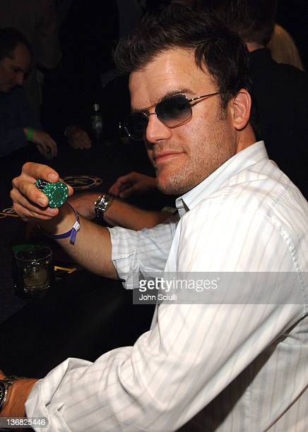 Kevin Weisman during Ultimatebetcom Kari Feinstein and Mike McGuiness Host Celebrity Poker Tournament to Honor Clifton Collins Jr's Emmy Nomination...