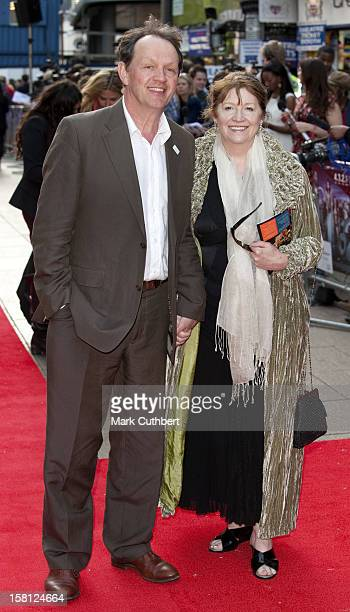 Kevin Whately And Madelaine Newton Arriving For The World Premire Of '4321' At The Empire Leicester Square Central London