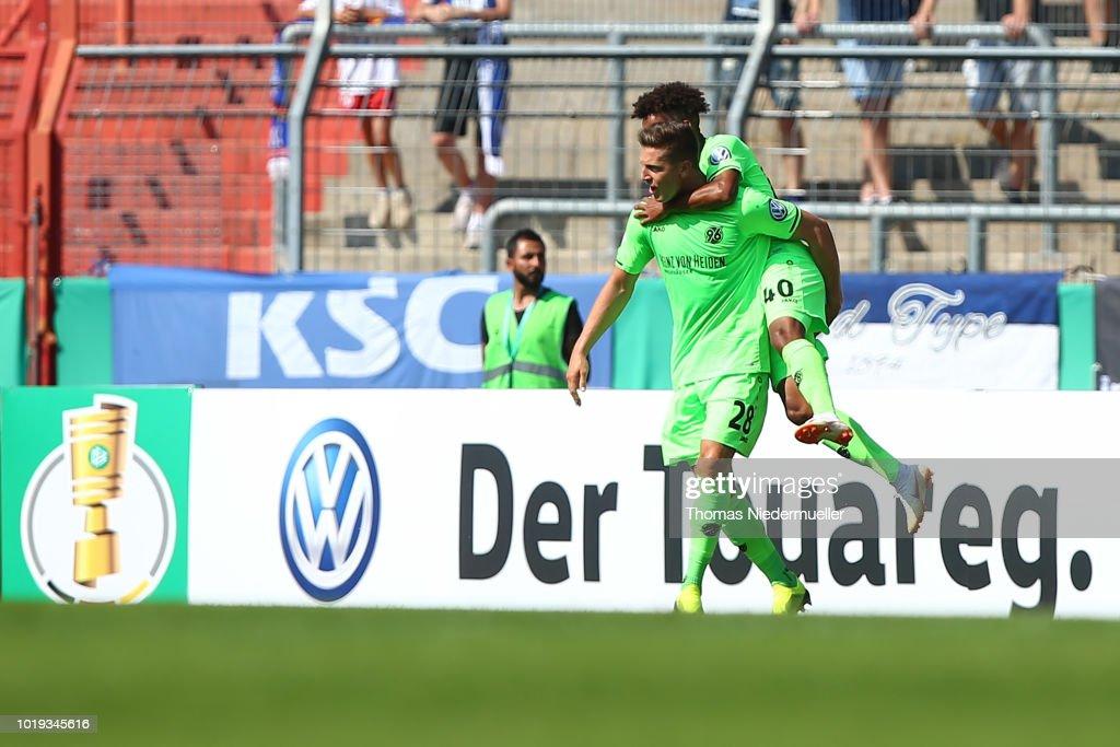 Karlsruher SC v Hannover 96 - DFB Cup