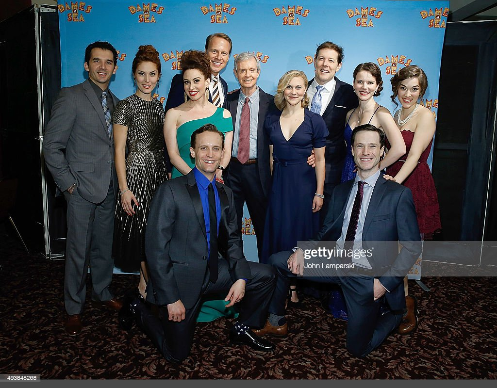 """""""Dames At Sea"""" Opening Night - Arrivals And Curtain Call"""