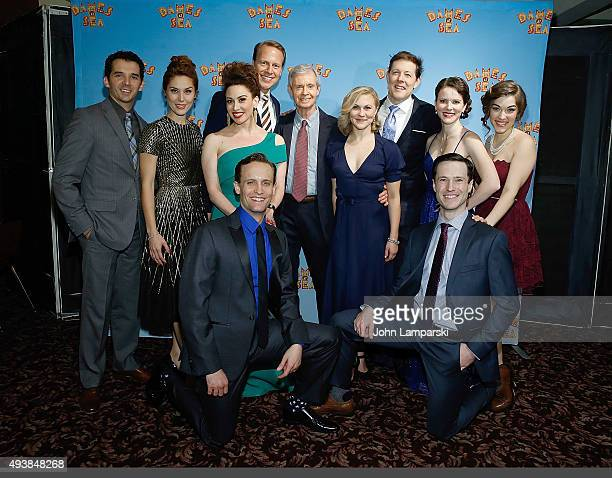 Kevin Worley Mara Davi Lesli Margherita Ian Knauer Eloise Kropp JohnBolton Kirstie Kerwin Tessa Grady Danny Gardner and Cary Tedder attend Dames At...
