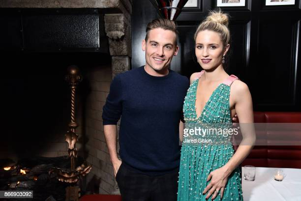 Kevin Zegers and Dianna Agron attend Miu Miu The Cinema Society host the after party for Sony Pictures Classics' 'Novitiate' at The Lambs Club on...
