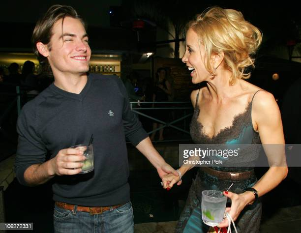Kevin Zegers and Felicity Huffman during Livestyle's AFI Premiere Lounge 2005 Screening of 'Transamerica' After Party Hosted by Bacardi Svedka Vodka...