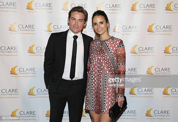 Kevin Zegers and Jordana Brewster attend the Clare Foundation's 19th Annual Friends Of CLARE Tribute Awards Gala at Lowes Santa Monica Hotel on...