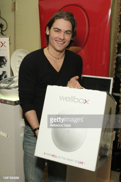 Kevin Zegers at Wellbox during Luxury Lounge Day 1 at Peninsula Hotel in Beverly Hills CA United States