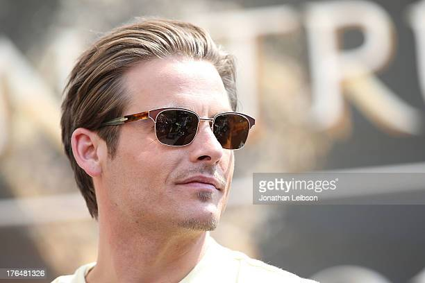 Kevin Zegers attends the 'The Mortal Instruments City Of Bones' meet and greet at The Americana at Brand on August 13 2013 in Glendale California