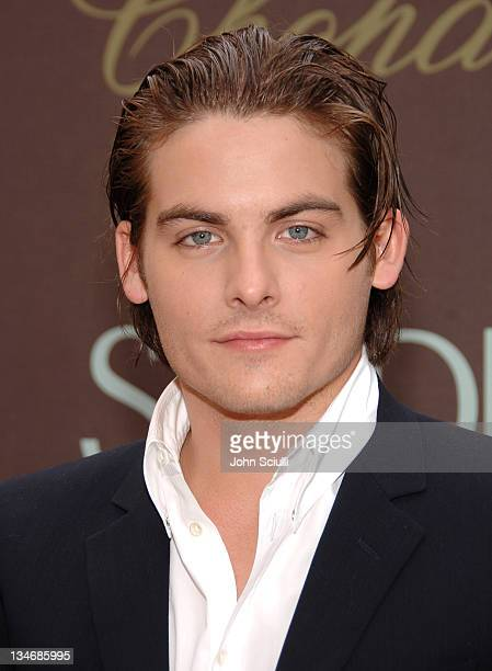 Kevin Zegers, award winner during 2006 Cannes Film Festival - The Chopard Trophy Award-Winners - Press Conference at The Majestic in Cannes, France.