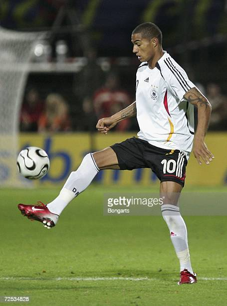 Kevin-Prince Boateng of Germany in action during the Men's U20 international friendly match between Germany and Austria at the Guenther-Volker...