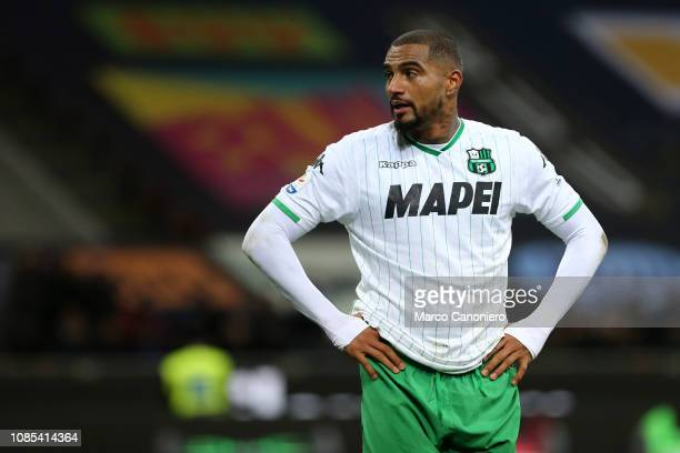 KevinPrince Boateng of Us Sassuolo Calcio during the Serie A football match between FC Internazionale and Us Sassuolo Calcio The match end in a tie 00