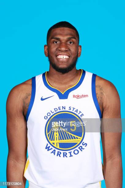 Kevon Looney of the Golden State Warriors poses for a head shot during media day on September 30 2019 at the Biofreeze Practice Facility in San...