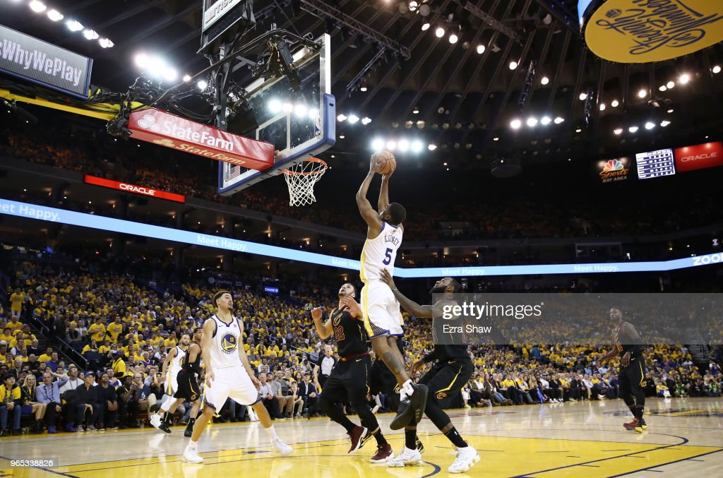 2018 NBA Finals - Game One : ニュース写真