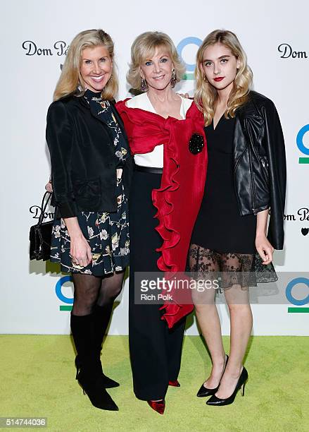 Kevyn Wynn Elaine Wynn and guest arrive at the 20th Annual Los Angeles Gala Dinner hosted by Conservation International on March 10 2016 in Culver...