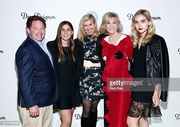 Kevyn Wynn Elaine Wynn and guests arrive at the 20th Annual Los Angeles Gala Dinner hosted by Conservation International on March 10 2016 in Culver...