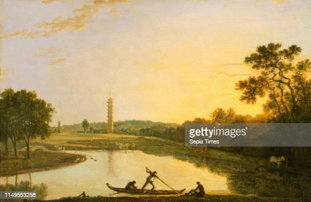 The Pagoda and Bridge Richard Wilson 17141782 British