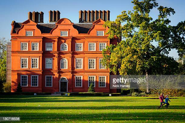 Kew Palace is seen during autumn in Kew Gardens on October 28 2011 in London England