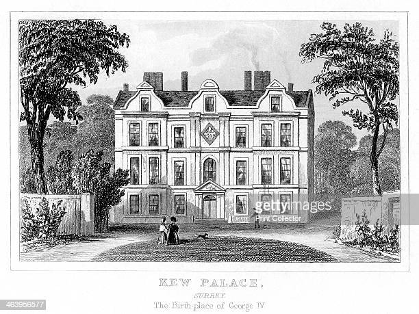 Kew Palace Richmond upon Thames London Built in 1663 for a Dutch merchant this building was known as the 'Dutch House' because of its Dutch gables It...