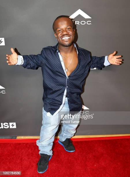 Kewon Vines attends the ZEUS New Series Premiere Party X CIROC Black Raspberry on October 19 2018 in Burbank California