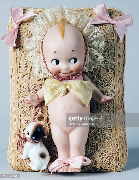 Kewpie doll with Doddledog celluloid doll made by Kewpie United States of America 20th century United States