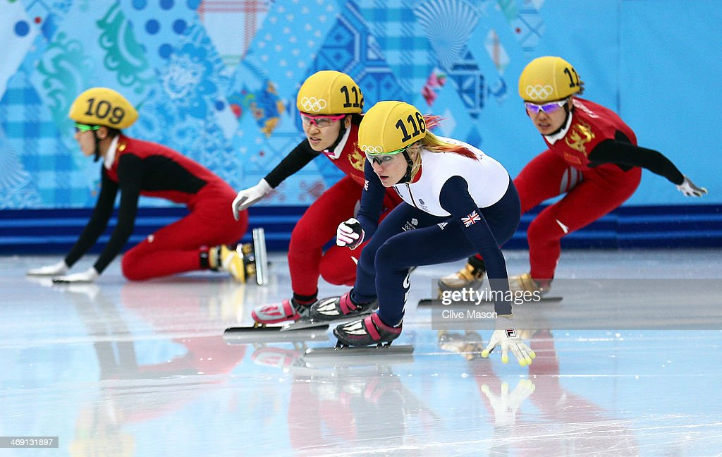 Short Track Speed Skating - Winter Olympics Day 6 : News Photo