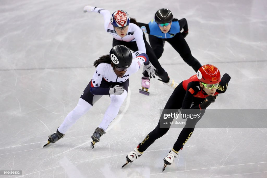 Short Track Speed Skating - Winter Olympics Day 1