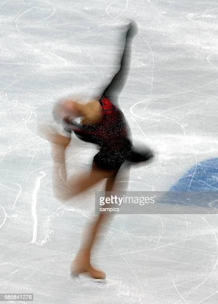 Kexin ZHANG Figureskating Ladies Free Skating Iceberg XXII Olympic Winter Games Sochi 2014