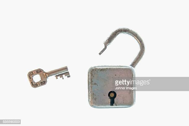 Key an padlock