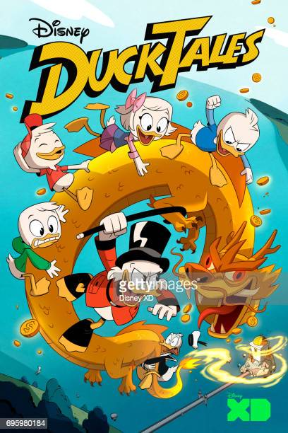 DUCKTALES Key Art VANDERQUACK DEWEY