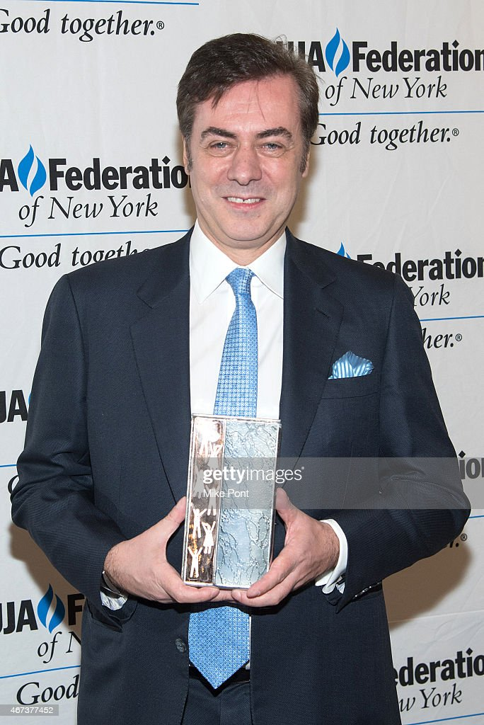 Key Brand Entertainment owner and CEO John Gore attends the 2015 UJA Federation Of New York Excellence In Theater Award Dinner at The St Regis New York on March 23, 2015 in New York City.