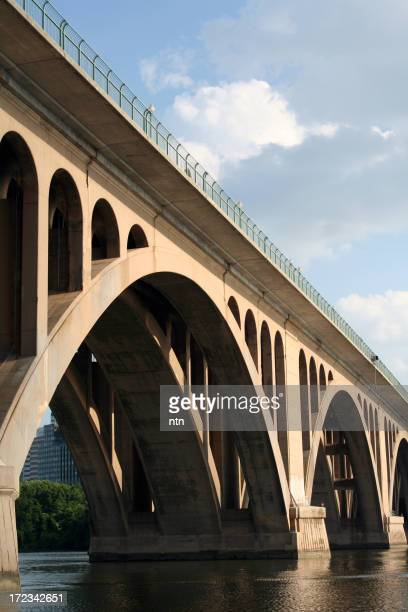 Key Bridge, Washington DC in daylight