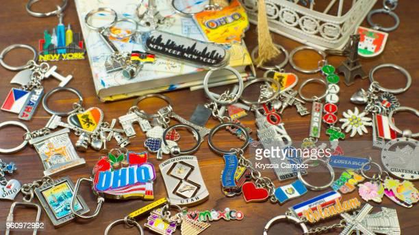 key chain collection - キーホルダー ストックフォトと画像