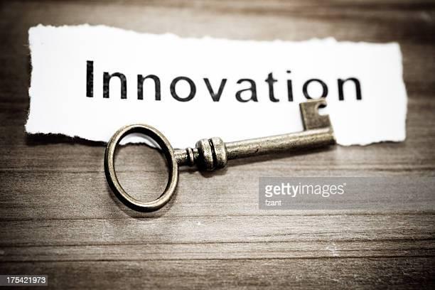Clave para inovation, concepto.