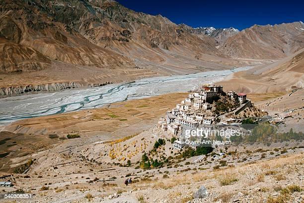 Key Gompa - Tibetan Buddhist Monastery in Spiti