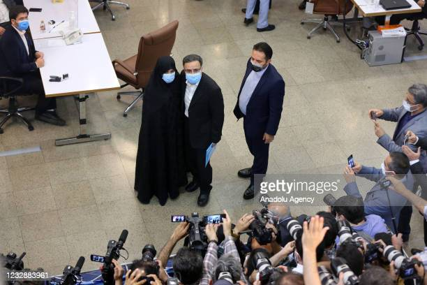 Key Iranian reformist figure Mostafa Tajzadeh on Friday filed his nomination for the forthcoming presidential election, in Tehran, Iran on May 14,...