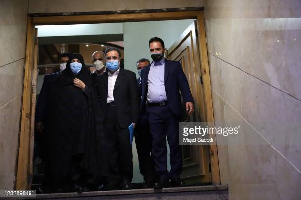 Key Iranian reformist figure Mostafa Tajzadeh on Friday filed his nomination for the forthcoming presidential election on May 15 in Tehran, Iran....