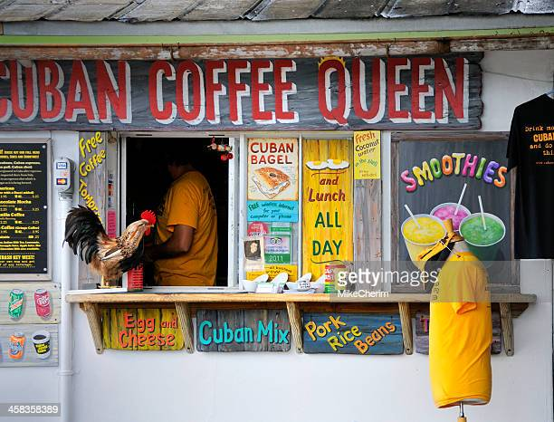 key west cuban coffee purveyor - key west stock pictures, royalty-free photos & images