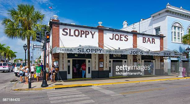 key west sloppy joe's bar - key west stock photos and pictures