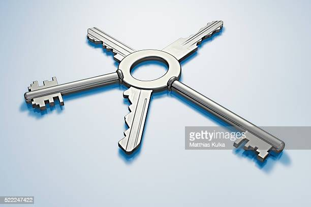 Key with Five Bits