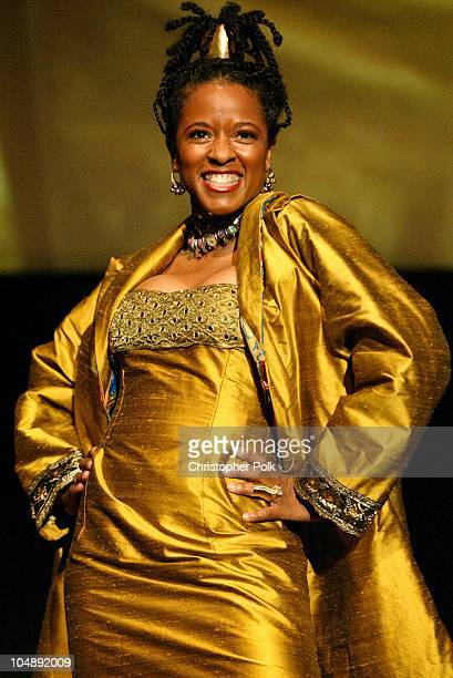 T'Keyah Crystal Keymah during ATAS Hosts a StarStudded Fashion Show to Benefit Dress for Success at ATAS' Leonard H Goldenson Theatre in North...