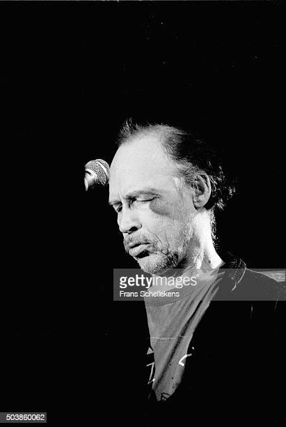 Keyboard player Don Preston performs at the Paradiso on March 26th 1994 in Amsterdam, the Netherlands.