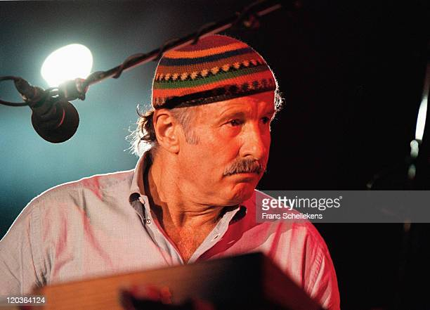 Keyboard player Joe Zawinul from Weather Report performs live on stage at the North Sea Jazz festival in the Congresgebouw, The Hague, Netherlands on...