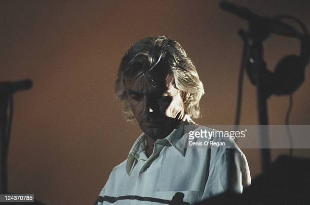 Keyboard player Rick Wright performing on Pink Floyd's Division Bell Tour April 1994