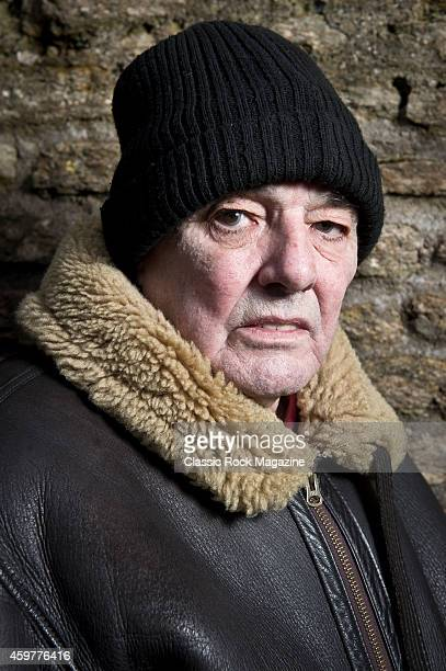 Keyboardist Dave Greenfield of English postpunk group The Stranglers photographed at the band headquarters in Frome Somerset on January 30 2014